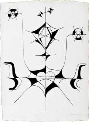 Acrylique sur papier chiffon - 49 x 66cm