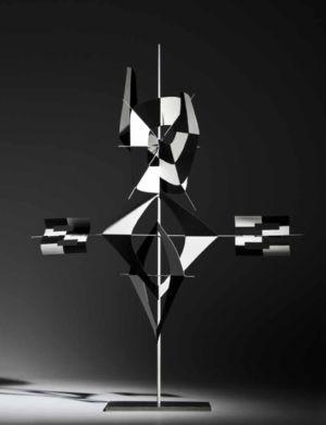 Pan - 2009 - Alliage zinc - 44 x 35 x 14cm